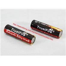 2pc Original TrustFire 14500 900mAh 3.7V lithium-ion BUY 4 FREE 2