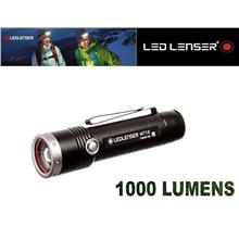 LED LENSER MT10 1000 Lumens Rechargeable Flashlight with Sheath