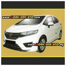 LLPU3143 Honda Jazz 2014 PU Side Skirt (Mugen)