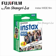 Fujifilm Instax Wide Film Instant Wide Film (20 Sheets)