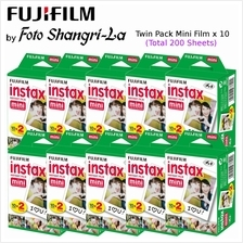 Fujifilm Instax Film Instax Mini Film Mini Film Twin Pack (x10) 200 Sheets