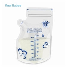 Real Bubee 30pcs 250ml BPA Free Breast Milk Storage Bags