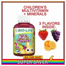 Bio-life Kids Gummies Multivitamin + Minerals 30s