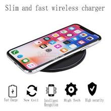 KD-19 Slim Wireless Charger Qi Fast Charger Power Charging LED Light