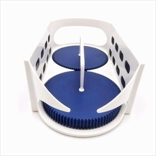 (Ready Stock) MULTI-FUNCTIONAL DOUBLE ROLLER ROTATING STORAGE BOX