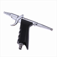 KKmoon Professional Double Action Pistol Trigger Airbrush Set with Hose 3  Tips