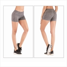 Quick Dry High Stretch Sports Gym Shorts Exercise Fitness Buttock Lift Yoga Pa