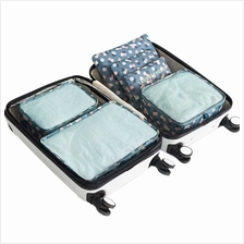 6 Pcs Household Portable Oxford Travel Storage Bags Pouches Set Multi-function