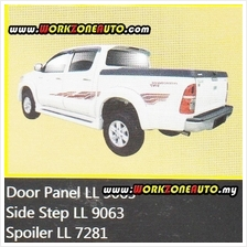 LL7281 Toyota Hilux Fiber Spoiler with Led (Sportivo)