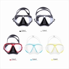 Diving Mask Goggles Swimming Diving Snorkeling Glass Equipment Toughened Tempe