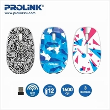 PROLiNK PMW5007 Wireless Optical Mouse with On/Off Switch