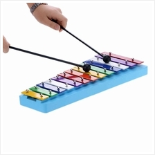 13 Bar Kid's Glockenspiel Xylophone Colorful Note of Educational Percussion In