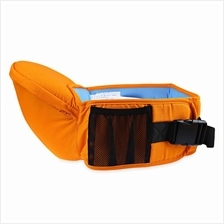 ERGONOMIC BABIES CARRIER NEWBORN KID POUCH INFANT WITH SLING (ORANGE)
