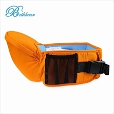 BETHBEAR ERGONOMIC BABIES CARRIER NEWBORN KID POUCH INFANT WITH SLING (ORANGE