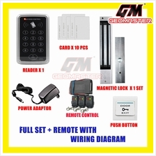 NEW RFID CARD ACCESS DOOR ACCESS SYSTEM - 10 YEARS WARRANTY