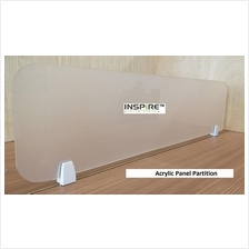 Acrylic Panel Partition 900L x 300H With Bracket