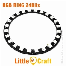 RGB LED Ring 24x WS2812 5050 NeoPixel Module
