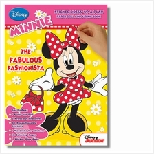 Minnie The Fabulous Fashionista Sticker Dress Up Book