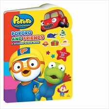 Pororo and Friends A Sticker Scene Book