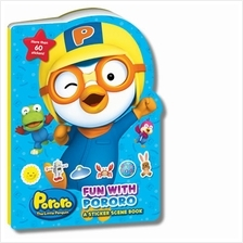 Fun With Pororo A Sticker Scene Book
