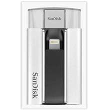 SANDISK iXPAND FLASH DRIVE FOR IPHONE IPAD COMPUTERS 16GB