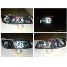 Nissan Cefiro A32 '98-00 CCFL Ring Projector Head Lamp [Hi-Low Beam]