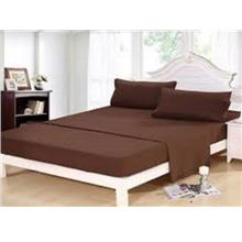 Plain Colors Fitted Bedsheet Set