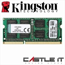 KINGSTON RAM Notebook DDR3 PC1600 8GB FOR MAC (KCP316SD8/8)