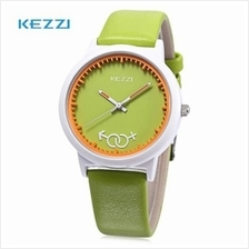 KEZZI K - 1515 KIDS QUARTZ WATCH LEATHER BAND CUTE PATTERN DIAL IMPORTED MOVT