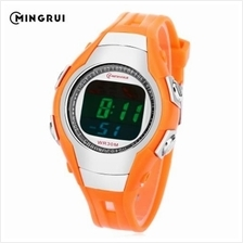 MINGRUI 8505 KIDS DIGITAL MOVT WATCH LED LIGHT DATE DAY CHRONOGRAPH DISPLAY 3A