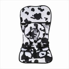 Portable Baby Kids Safety Car Seat Children Harness (WHITE)