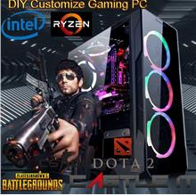DIY Customize Budget Gaming PC Intel AMD Dekstop Ryzen CPU