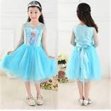 Frozen Princess Elsa Formal Dress-Ready Stock