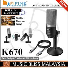 FIFINE K670 USB Microphone,Fifine PC Microphone for Mac and Windows