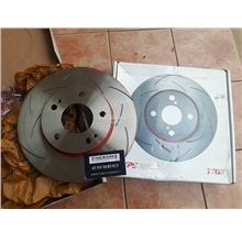 TOYOTA VIOS NCP42 TRW XPS SLOTTED DISC FRONT PER PAIR