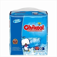 Chikool Baby Training Diaper Pants Ultra Thin Size L 20 Count For 18-22lb Baby