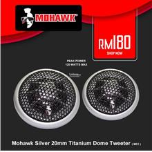 Mohawk Silver 20mm Titanium Dome Tweeter ( MS1 )