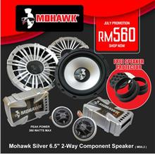 Mohawk Silver 6.5' 2-Way Component Speaker ( MS6.2 )