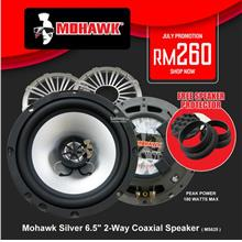 Mohawk Silver 6.5' 2-Way Coaxial Speaker ( MS625 )