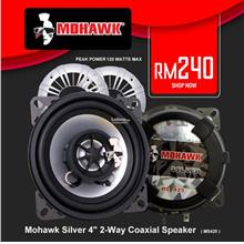 Mohawk Silver 4' 2-Way Coaxial Speaker ( MS425 )