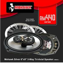 Mohawk Silver 6' x 9' 3-Way Tri-Axial Speaker System ( MS693 )