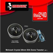 Mohawk Crystal 28mm Silk Dome Tweeter ( MC1 )