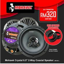 Mohawk Crystal 6.5' 2-Way Coaxial Speaker ( MC625 )