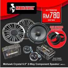 Mohawk Crystal 6.5' 2-Way Component Speaker System ( MC6.2 II )