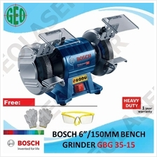 GBG 35-15 Professional 6inch/150mm 350 Watt Double Wheel Bench Grinder