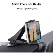 Universal car dashboard holder stand hud design car clip smartphone