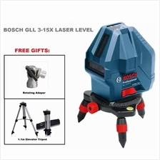 BOSCH GLL 3-15X LINE LASER WITH FREE TRIPOD (2 V1H1D)