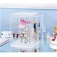 NEW! Acrylic Earring Display Organiser Holder Earring Storage Box