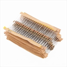 860pcs 1 ohm-1M ohm 1/4W Carbon Film Resistors Assortment Kit Set 43 Values To