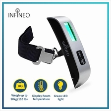 INFINEO Portable Digital Luggage Scale (DLS02)